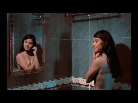 Hot Indian College Girl changing dress and bathing