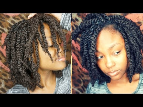 Afro Kinky Twists Using Afro Soul Bulk At Meekfro Superline