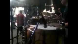 Claudio Di Cicco prueba de sonido con Abel Pintos ( Lo que Soy )