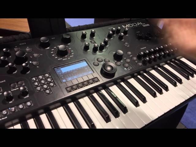NAMM 2016: Modal Electronics 008 Demo