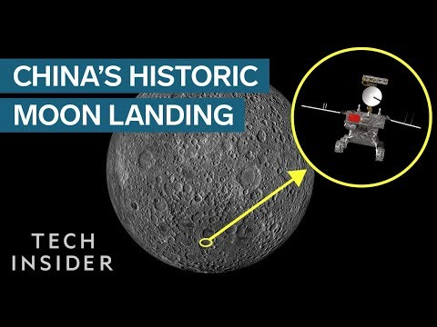 Landing on the Dark Side of the Moon