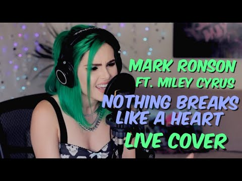 Mark Ronson - Nothing Breaks Like A Heart Ft. Miley Cyrus (LIVE Cover)