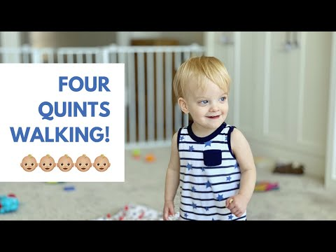 Toddler's First Steps - Little Grandma's First Visit To Our New Home - Pantry Tour