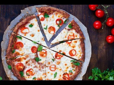 Margherita Pizza with Cauliflower Crust Recipe