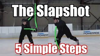 5 Steps - How To Take a Slapshot