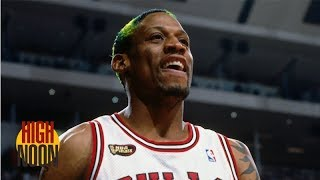 People forget how awesome Dennis Rodman was at basketball | High Noon