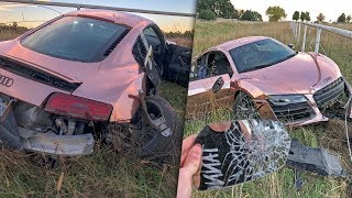 I crashed my supercar... (totaled)