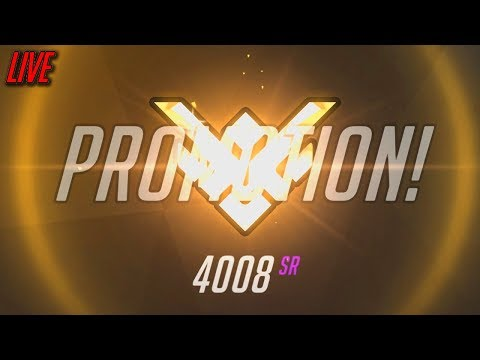 CAN WE DO IT? OVERWATCH RANKED LIVE
