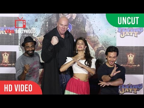 UNCUT - A Flying Jatt Official Trailer Launch | Tiger Shroff, Jacqueline Fernandez, Nathan Jones