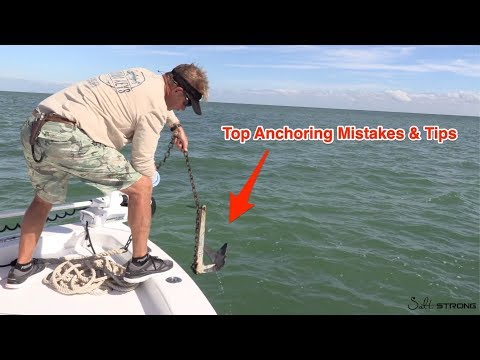 How To Anchor A Bay Boat (Top Anchoring Mistakes & Tips)