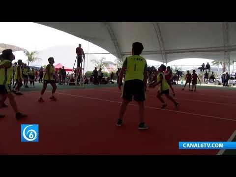 CDMX, mini potencia en el voleibol infantil en la espartaqueada