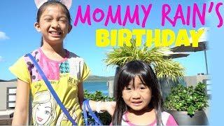 MOMMY RAINS BIRTHDAY At The BEACH