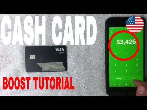 ✅  How To Use Cash App Cash Card Boost Tutorial 🔴