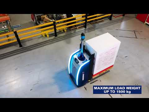 Laser Guided Pallet Vehicle