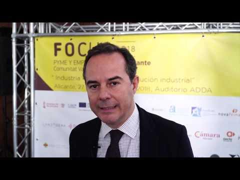 Carlos Castillo. Concejal de Fomento y Empleo del Ayto. Alicante en #Focuspyme Alicante 20[;;;][;;;]