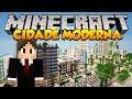 Minecraft Mapas Incrvel Cidade Moderna Greenfield