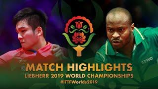 Fan Zhendong vs Aruna Quadri | 2019 World Championships Highlights (R32)