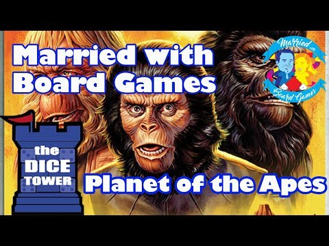 Planet of the Apes Review with Married with Board Games