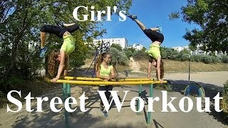 Girl's Street Workout Russia / Female motivation