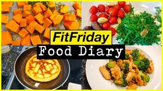 HEALTHY FOOD DIARY! Low Carb Meals for Weight Loss #FitFriday