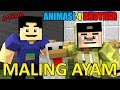 MALING AYAM.!! ANIMASI LUCU 4 BROTHER | ANIMASI MINECRAFT INDONESIA