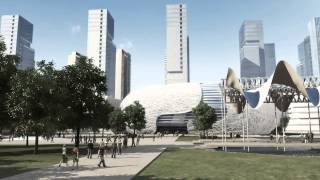 Video : China : Yichang New District master plan 宜昌