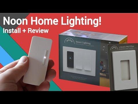 Best Smart Home Light Setup: Noon Smart Home Lighting Review!