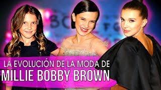 ¡Evolución de la Moda de Millie Bobby Brown!
