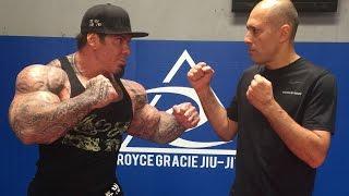 ROYCE GRACIE INTERVIEW  UPCOMING FIGHT FEB 19TH  KEN SHAMROCK   LEGEND