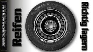 Reifen richtig lagern - Tipps von M1Molter