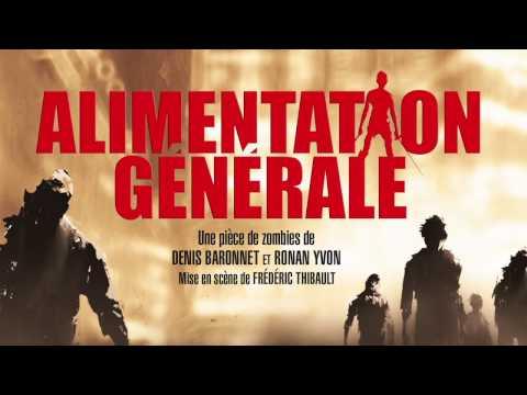 Alimentation Générale, une pièce de zombies - Théâtre des Béliers Parisiens - Teaser