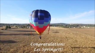 Canowindra Balloon Challenge 2016 Key Grab Winner
