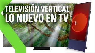 THE SERO: la tv vertical, TV QLED 8K casi SIN MARCOS y paneles MICROLED | NOVEDADES SAMSUNG CES 2020