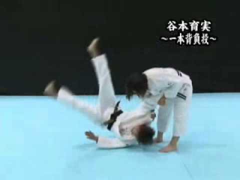 柔道技動画 谷本育実選手