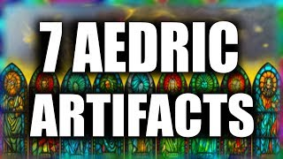 Skyrim - 7 Aedric Artifacts
