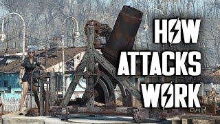 How Settlement Attacks Work - Fallout 4