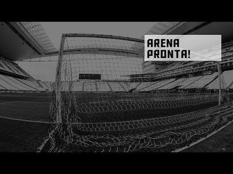 Arena Corinthians pronta para #CORxPAL