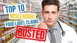 Top 10 Misleading Food Label Claims | Nutrition Labels BUSTED!!! - Video Youtube