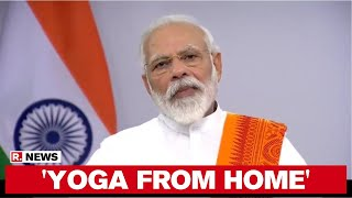 PM Modi Yoga Day Appeal: Follow Social Distancing Norms, Avoid Mass Gatherings - Download this Video in MP3, M4A, WEBM, MP4, 3GP