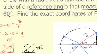 13 3 Finding Exact Values Using Special Triangles Ex  2