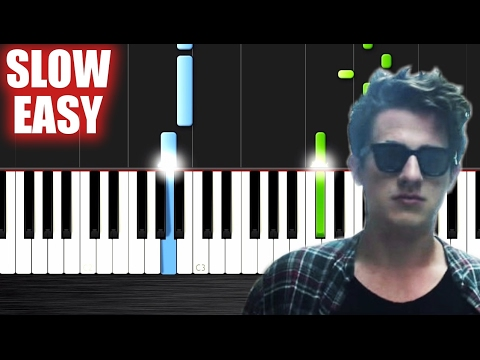 Charlie Puth - We Don't Talk Anymore (feat. Selena Gomez) - SLOW EASY Piano Tutorial by PlutaX