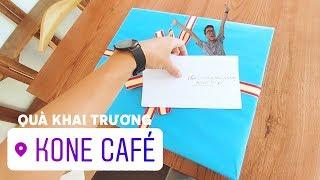 Quà tặng khai trương Kone Cafe