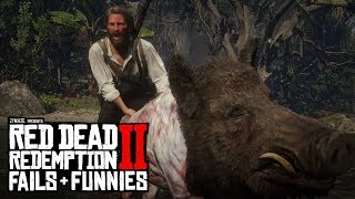 Red Dead Redemption 2 - Fails & Funnies #20