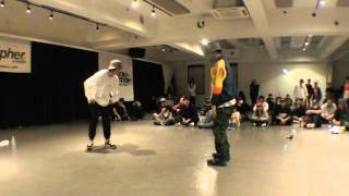 たつきvsミスターバービーBEST8/STEPSWEEKENDJAMGRANDFINALS2016