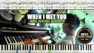 When I Met You - APO/ Piano Sheet Music Tutorial Guide