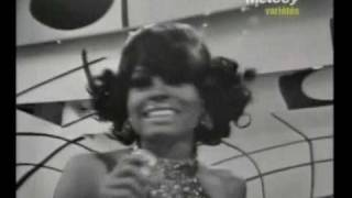 "Diana Ross & The Supremes ""The lady is a tramp"" - French TV 1968"