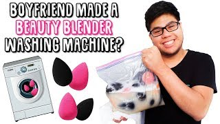 Beauty Blender Washing Machine?