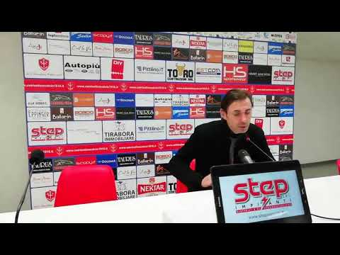 Sala stampa Triestina-Modena: Carmine Gautieri