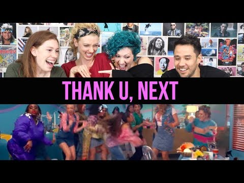 Ariana Grande - Thank U, Next - Starring our very own Cortney! - Reaction.
