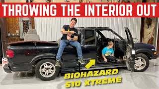 The FREE S10 Xtreme Was So NASTY We Threw The Interior In The TRASH